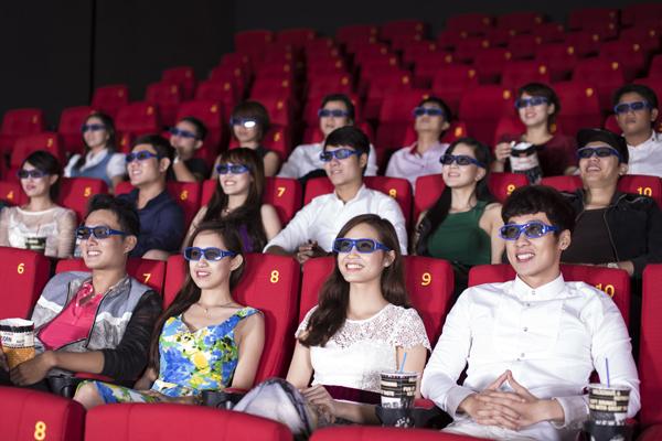 Ghế vip là các ghế có vị trí ngồi xem tốt nhất trong rạp