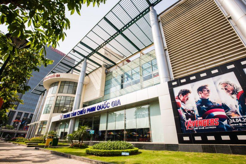 Hướng dẫn cách đặt vé rạp chiếu phim Quốc gia