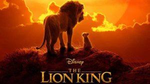 """Poster Phim Hoạt Hình """" Vua Sư Tử"""""""